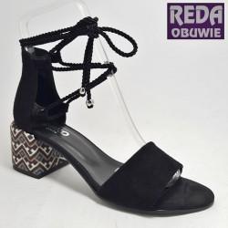 Ryłko sandały 5DFF0 czarne