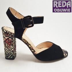 Sandały srebrne  Eksbut  38-5043