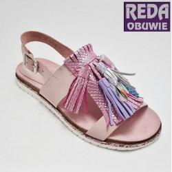 Sandały Nessi różowe 19569