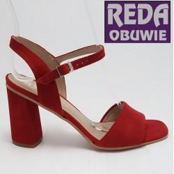 Ryłko sandały 8PH61 czerwony