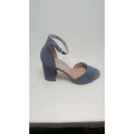 Sandały Ryłko  błękitne